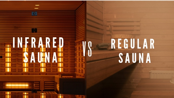 infrared sauna vs regular sauna