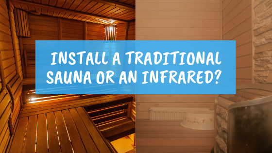 infrared sauna vs traditional sauna